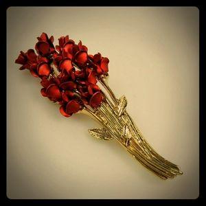 """Avon Jewelry - Vintage Avon """"Especially For You"""" Dozen Roses Pin"""